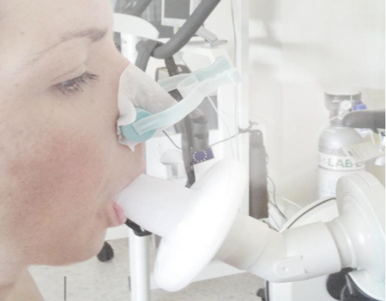Image of Spirometry in use